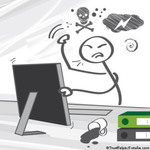 Hacker angry
