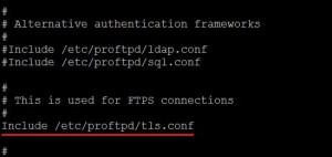 ubuntu TLS config file
